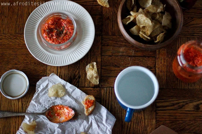 how to make feta and chips