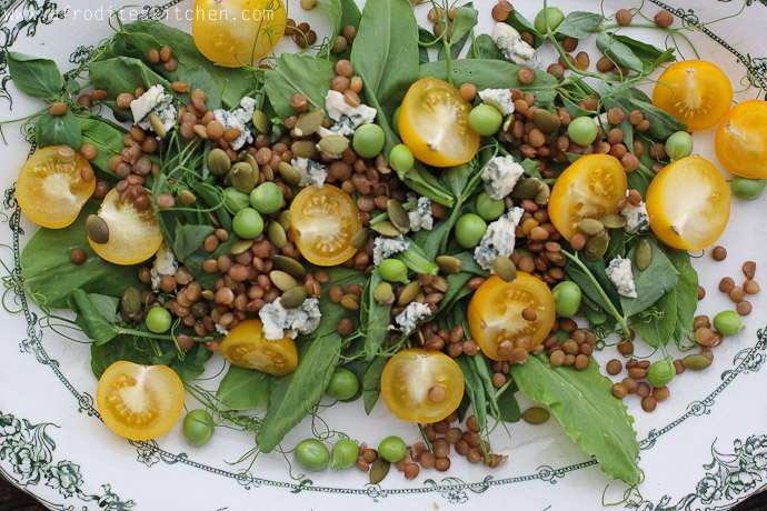 louvana salad cyprus vetch recipe louvana recipe cyprus recipes cypriot recipes afrodite's kitchen