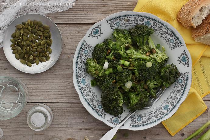 broccoli salad recipe afrodite's kitchen broccoli recipe
