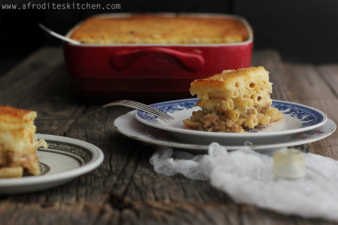 pastitsio recipe cyprus easter cypriot villages www.afroditeskitchen.com