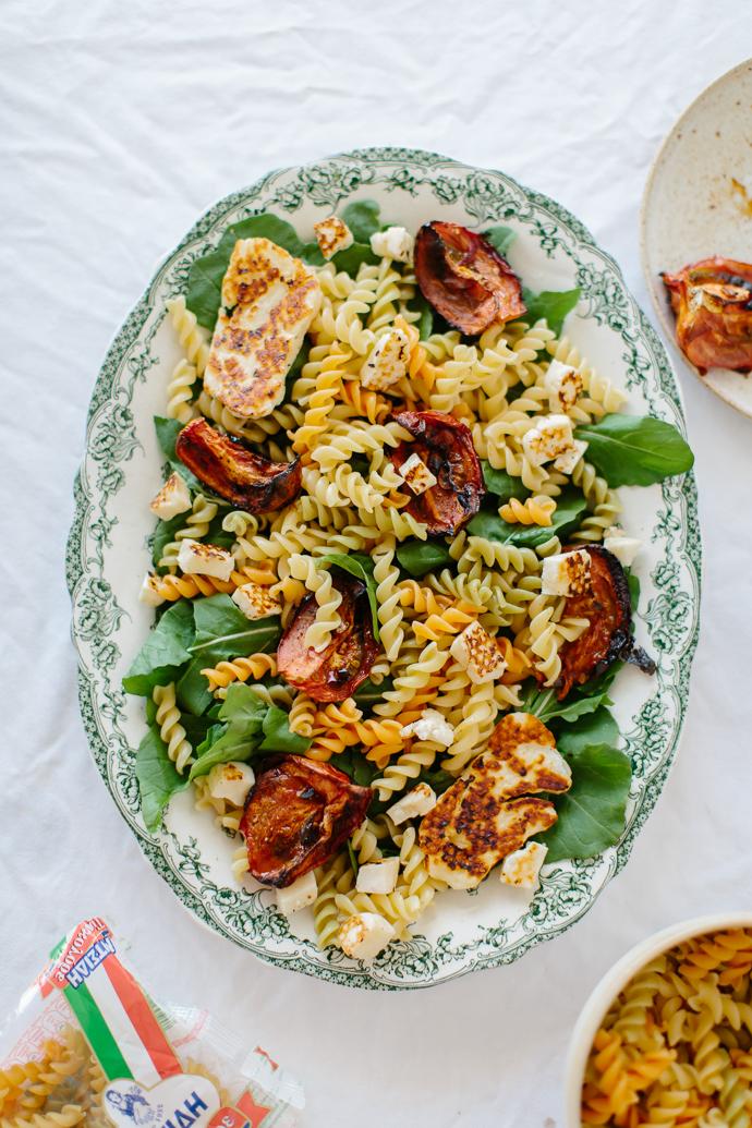 Mitsides Tricolore Pasta Salad Afrodite's Kitchen-7009