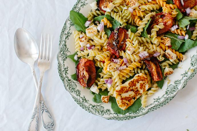 Mitsides Tricolore Pasta Salad Afrodite's Kitchen-7020