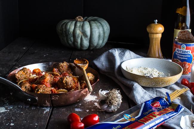 Afrodite's Kitchen Spaghetti & Meatballs-9124